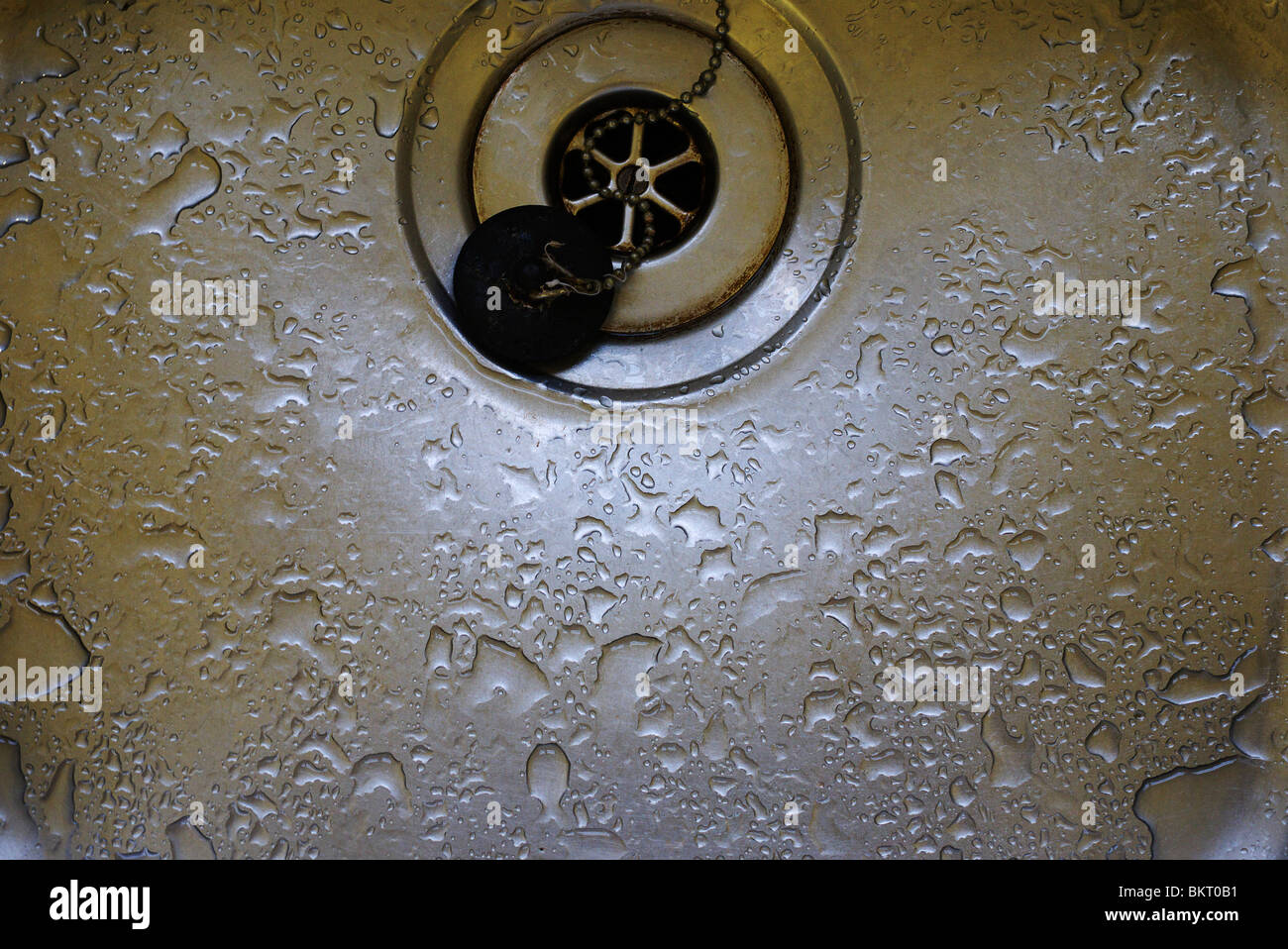 Down my plughole 4 - Stock Image