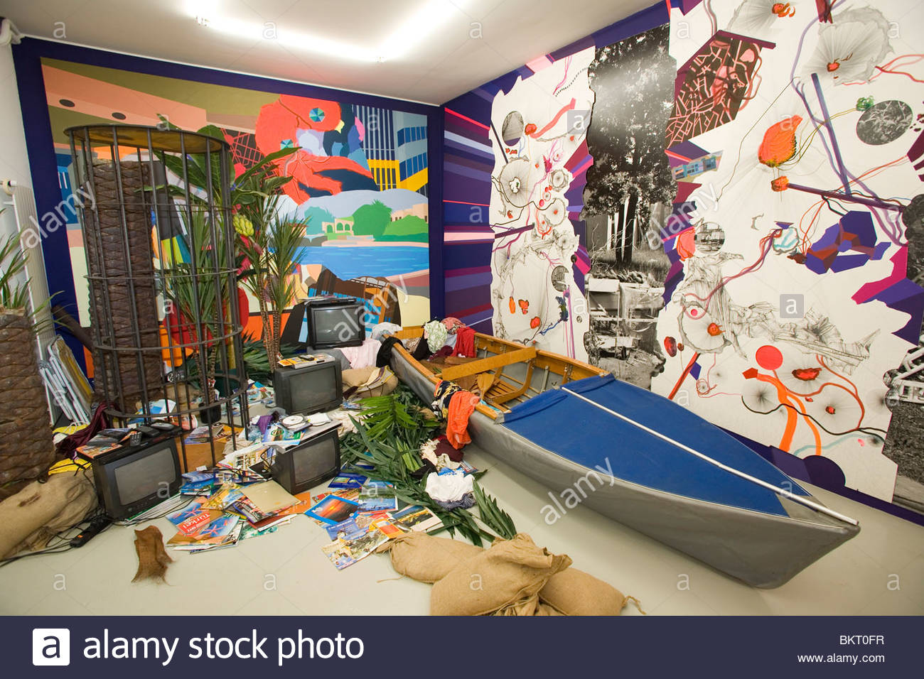 Art Gallery Mai 36,Zurich,Switzerland - Stock Image