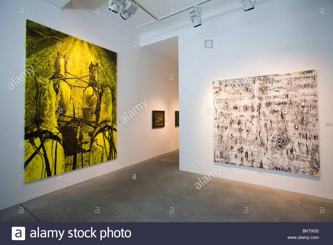 Bruno Bischofberger Art Gallery,Zurich,Switzerland - Stock Image