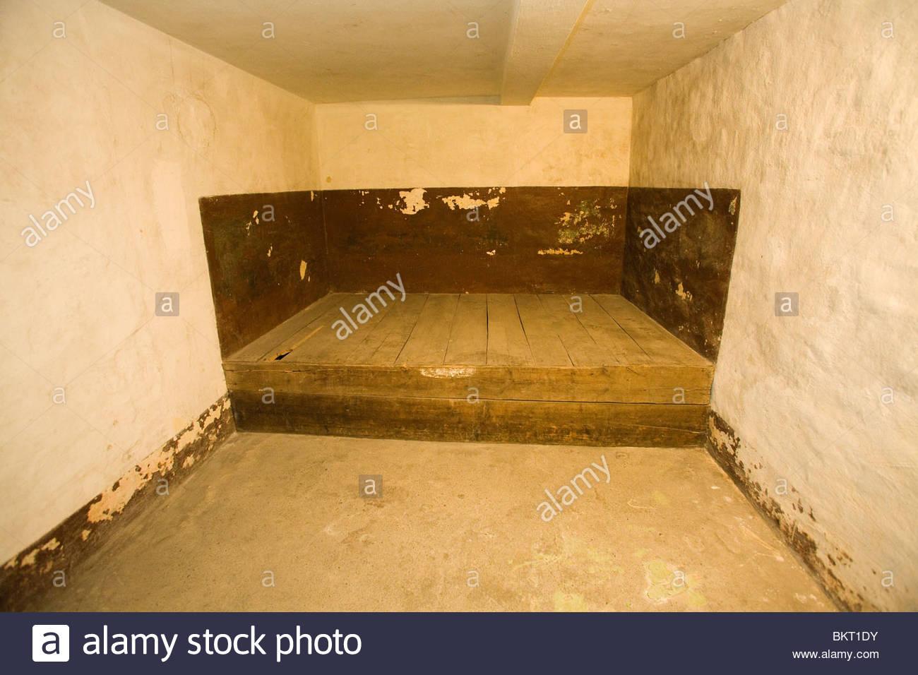 secret prison for the political prisoners,now a museum,Potsdam,Brandenburg,Germany - Stock Image