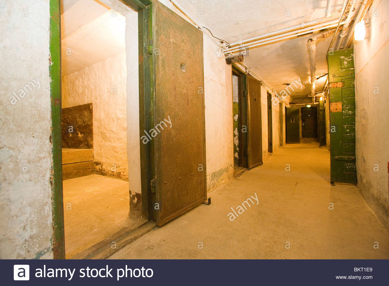 secret prison for the political prisoners,now a museum,Potsdam,Brandenburg,Germany Stock Photo