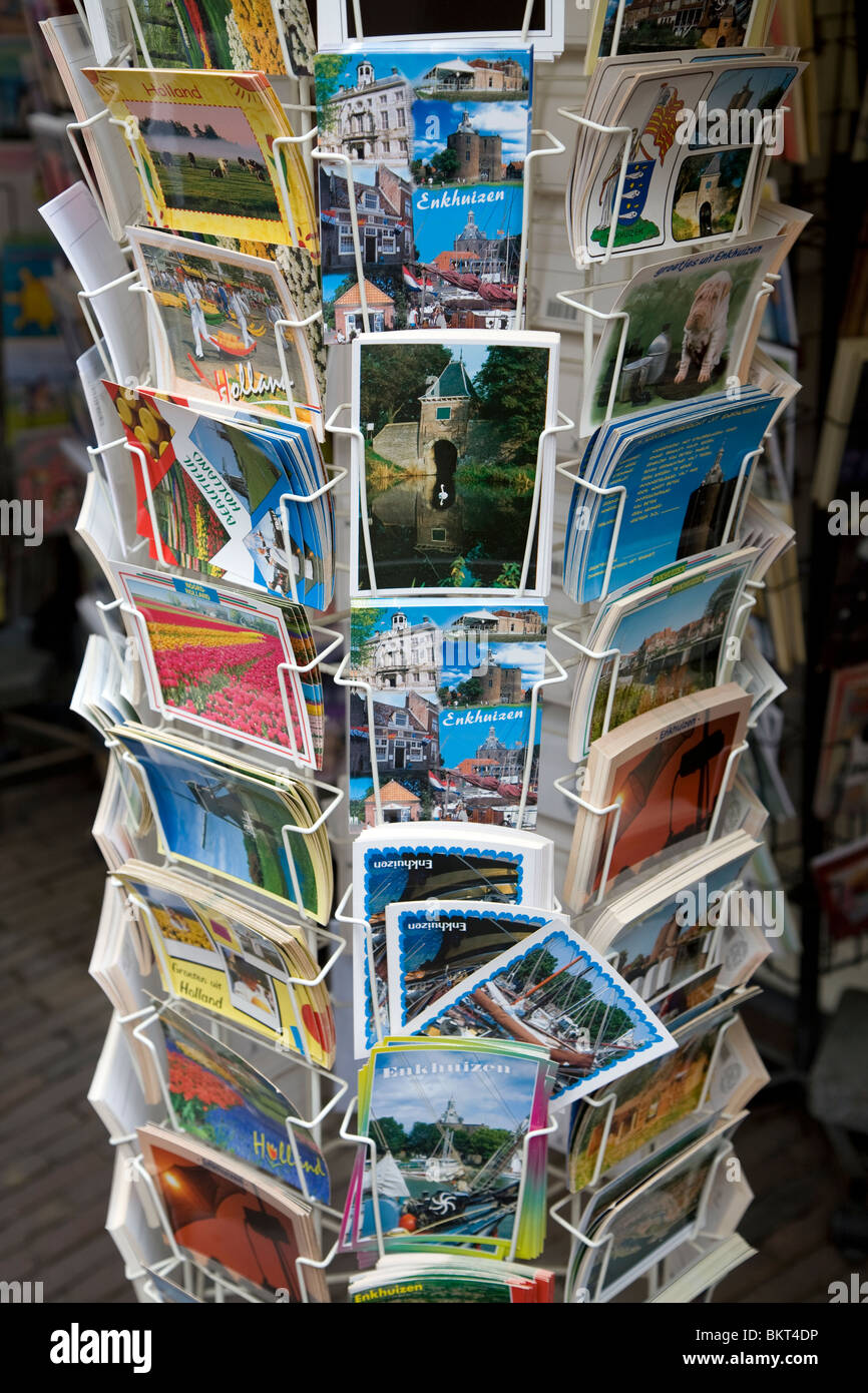 Picture Postcards, Enkhuizen, Netherlands - Stock Image