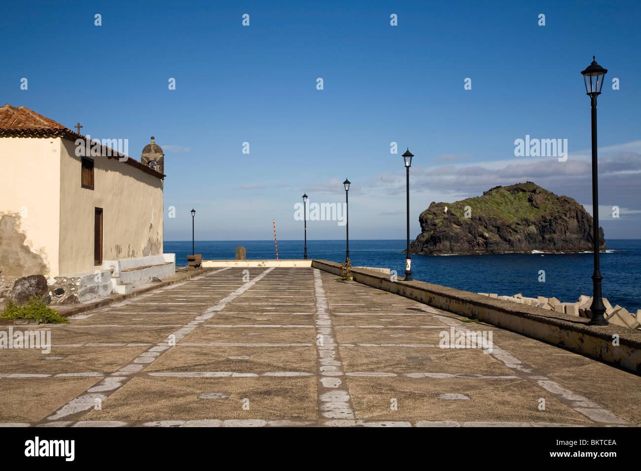 Ermita de San Roque, Garachico Stock Photo