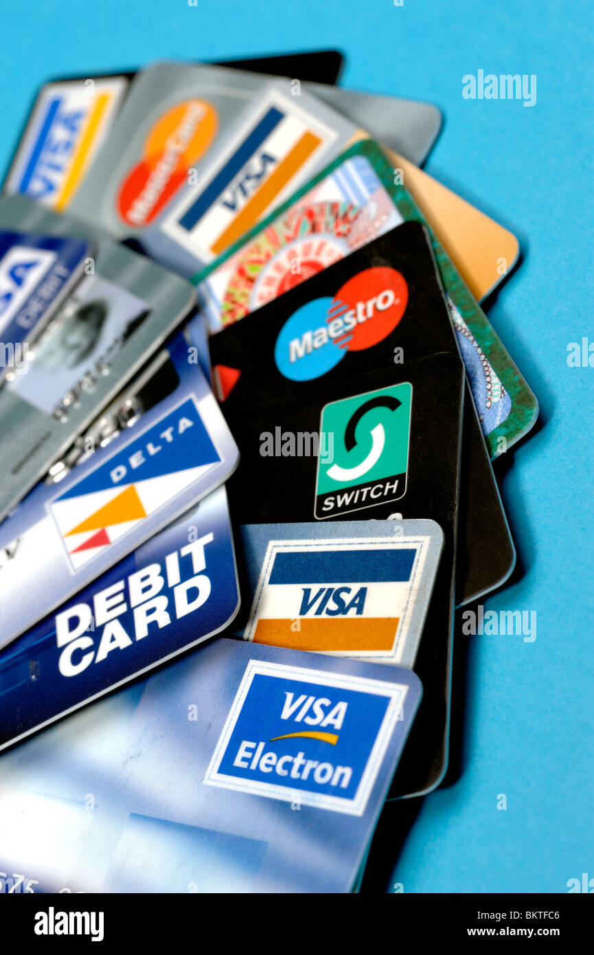 Credit cards - Stock Image