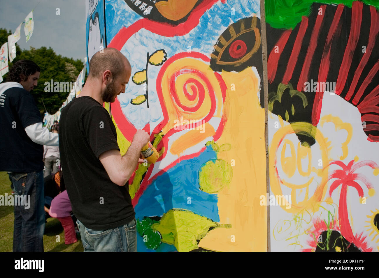 Together Community People Outdoors Celebrate Global Sustainable ...