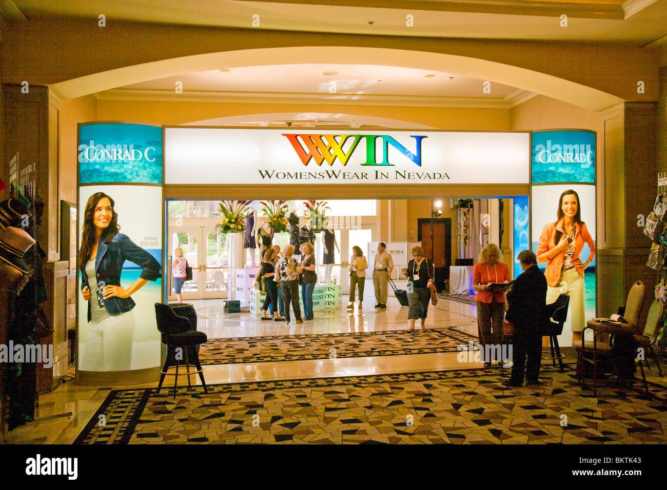 The WOMENS WEAR IN NEVADA or WINN show - LAS VEGAS, NEVADA Stock Photo