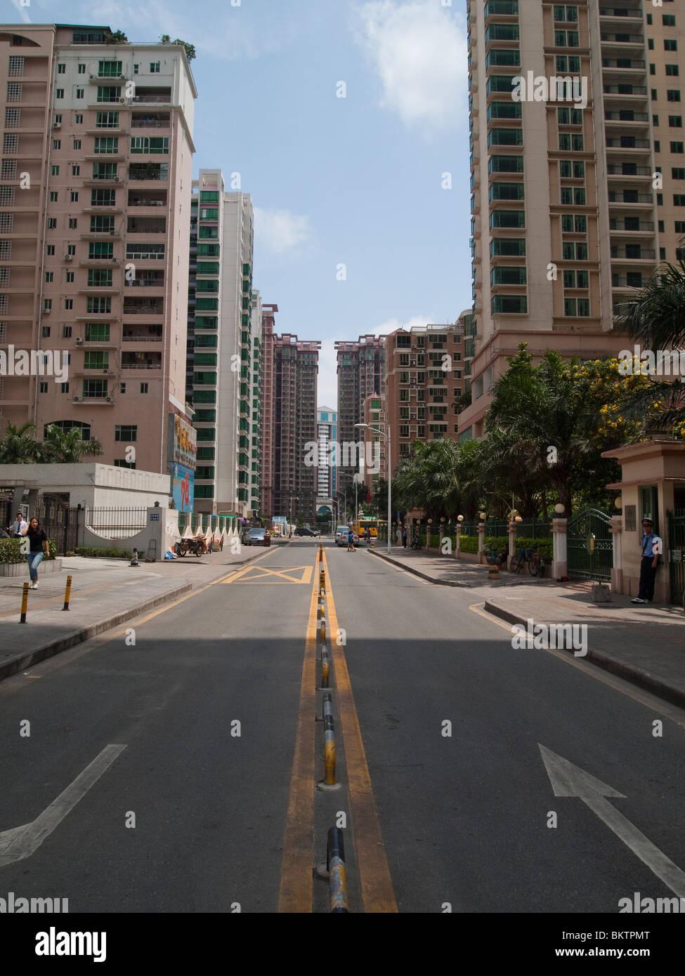 Futian District, Shenzhen, China - Stock Image