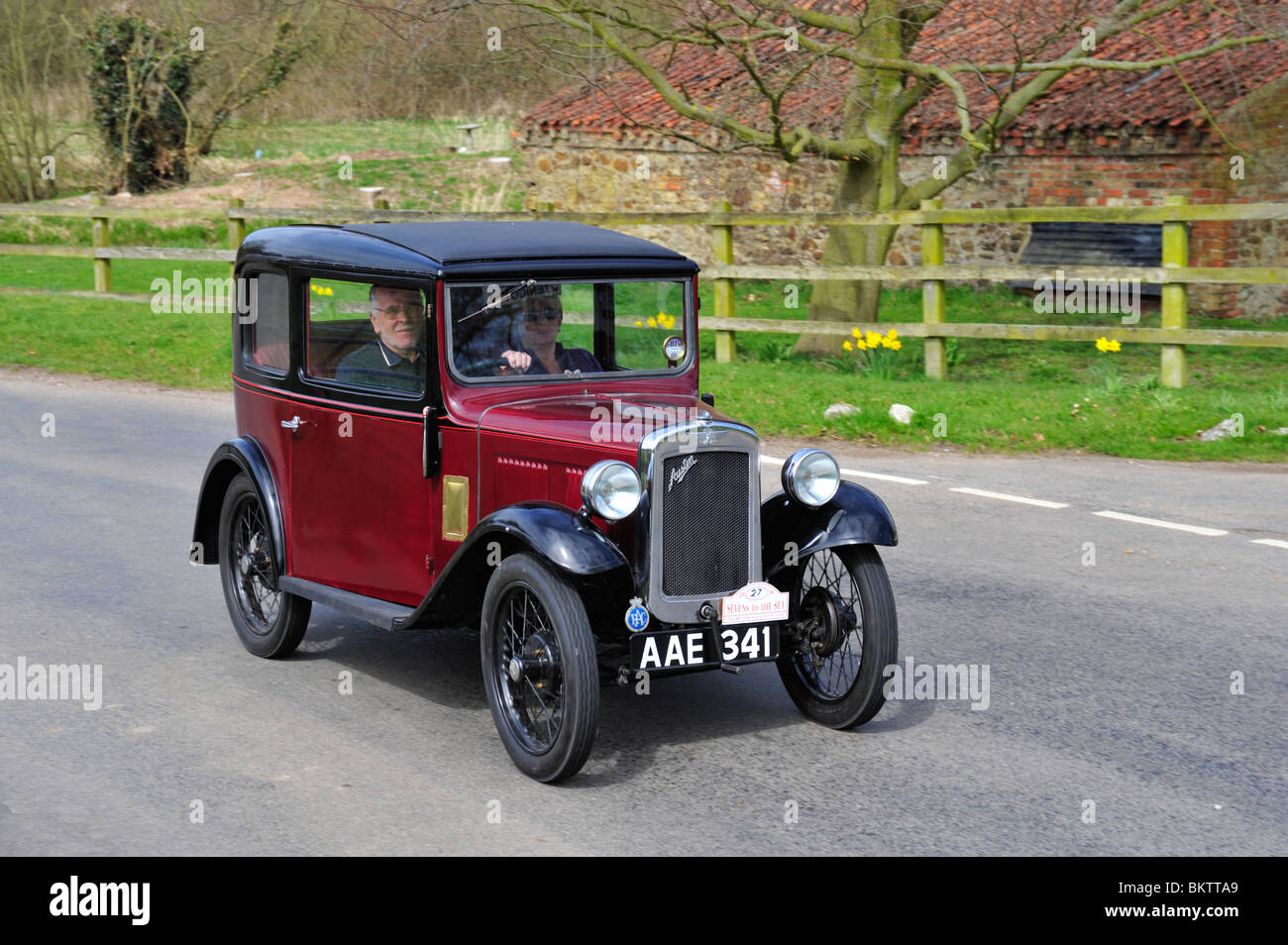 1933 Austin Seven RP box saloon. Vintage Cars. ON THE OPEN ROAD ...