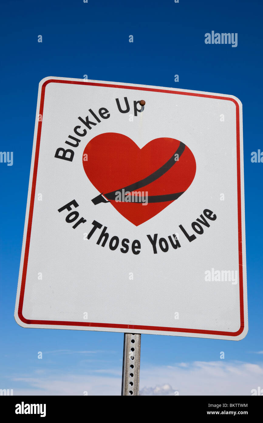 Buckle Up! - Stock Image