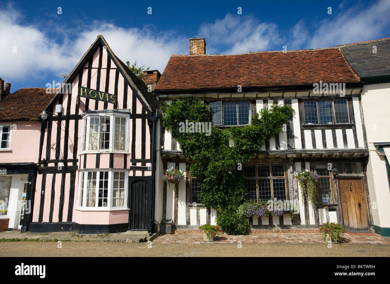 The Bakery in Lavenham Suffolk - Stock Image