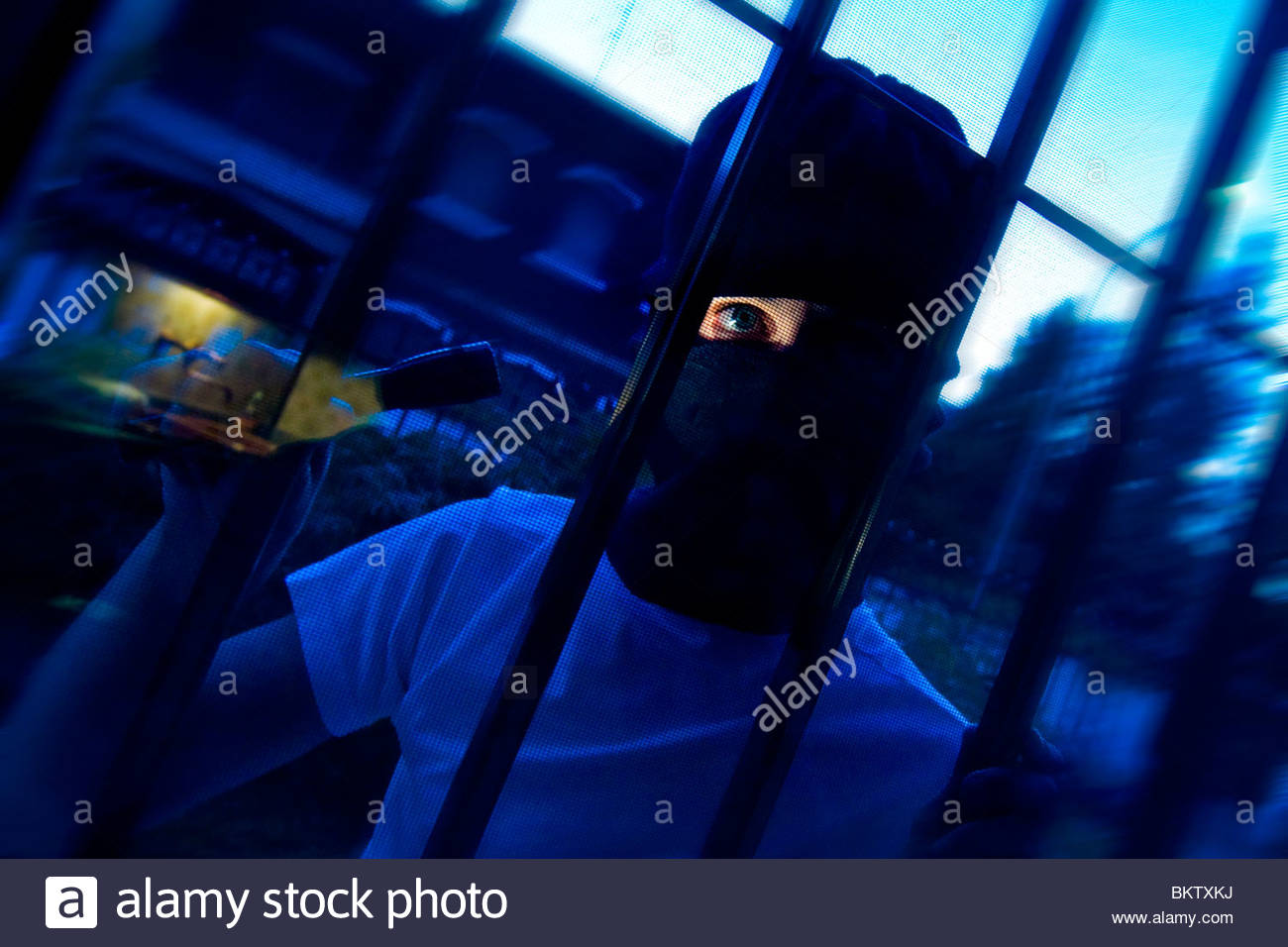robber - Stock Image