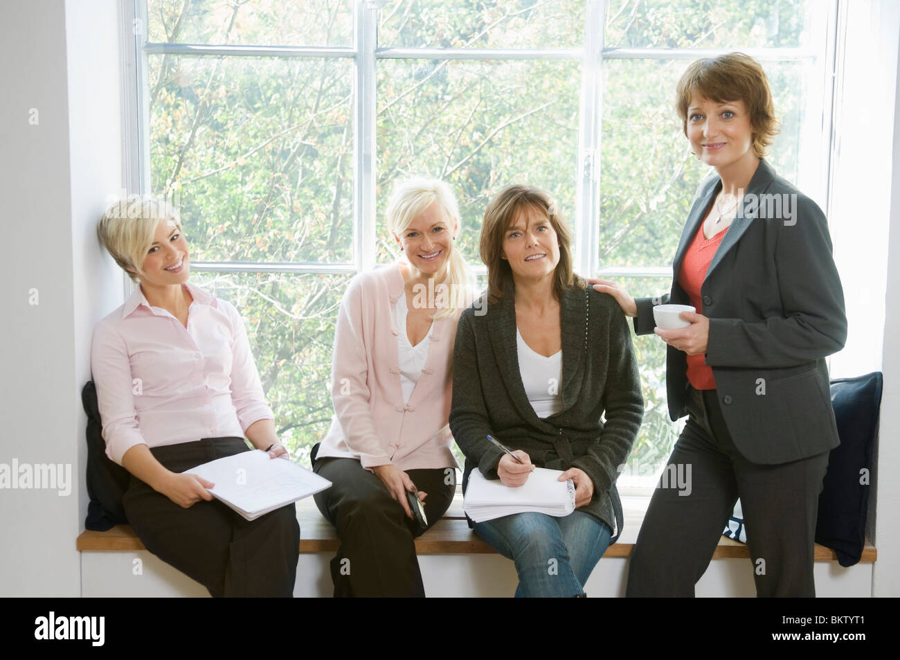Pause at work - Stock Image
