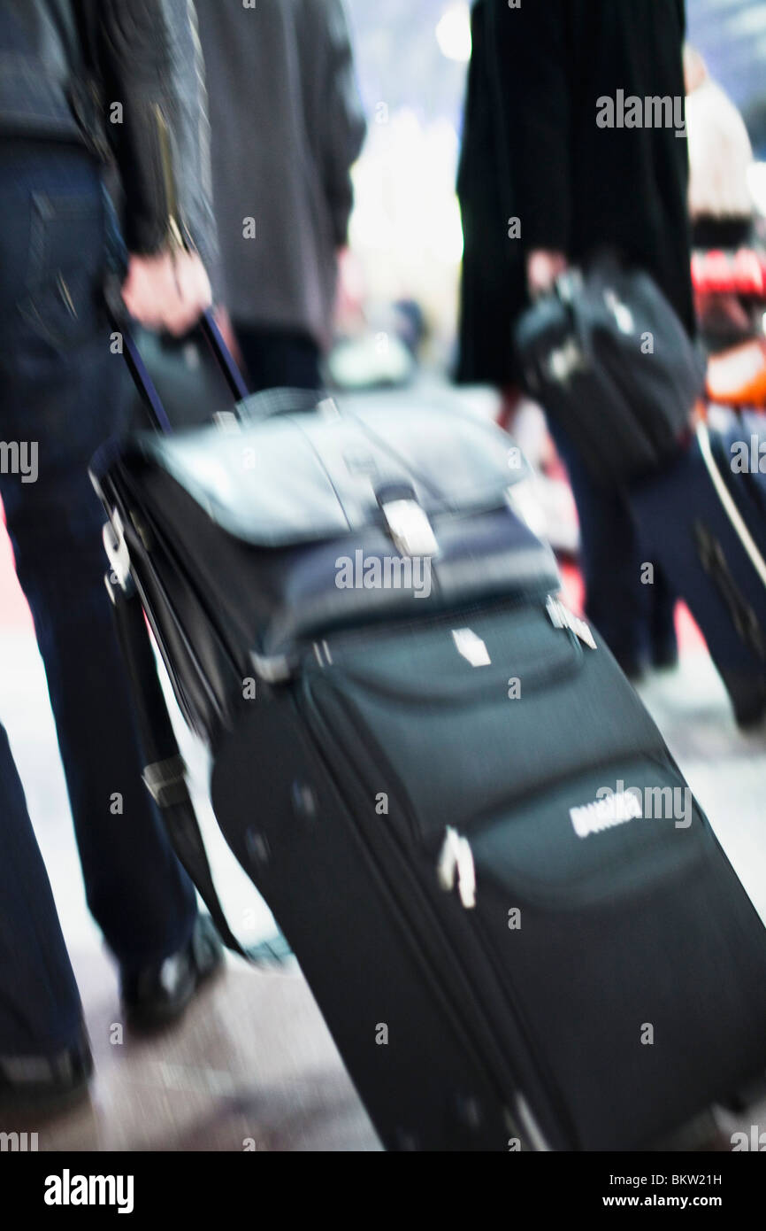 People in a hurry - Stock Image