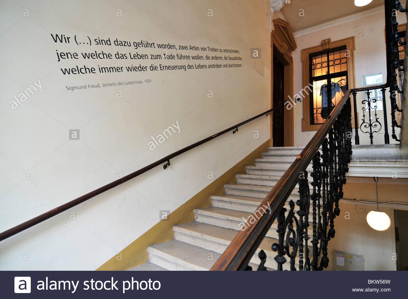 sigmund freud museum,wien,austria - Stock Image