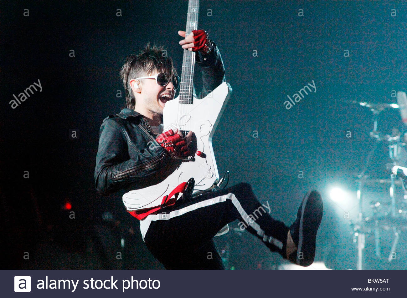 30 seconds to mars,jared leto - Stock Image