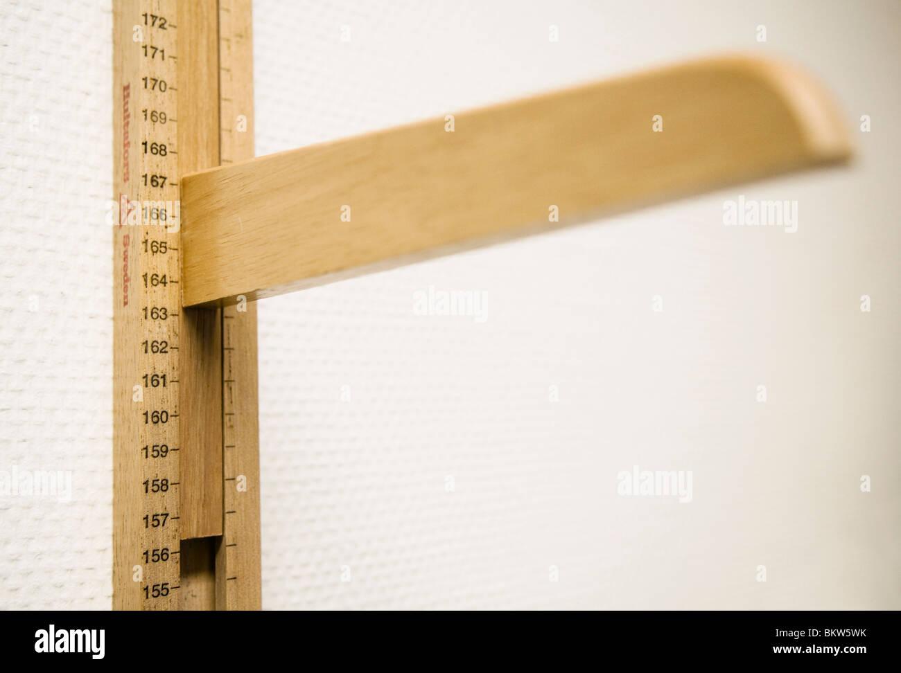 Length meter - Stock Image