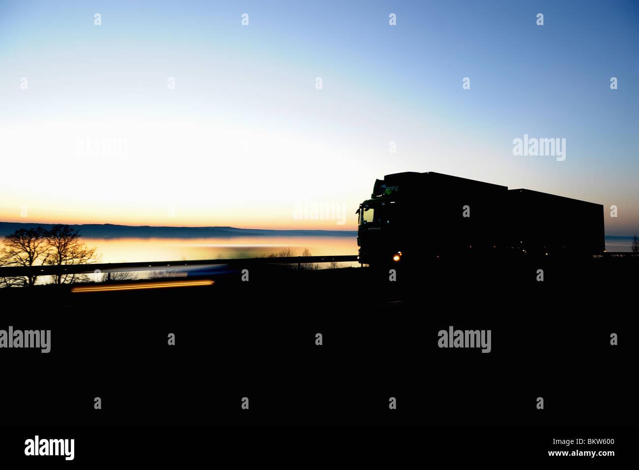 Juggernaut silhouette Stock Photo