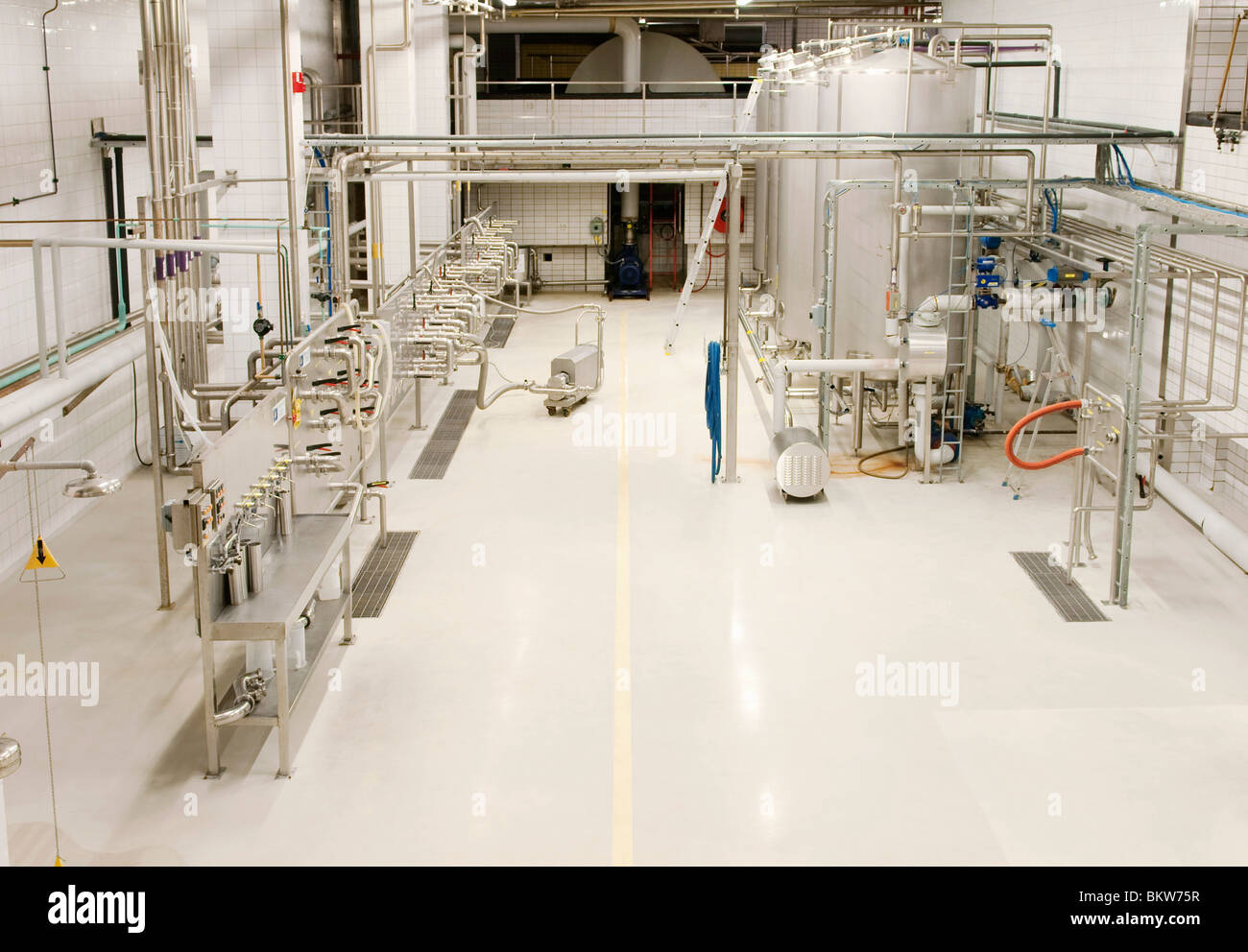 Sterile industrial premises - Stock Image