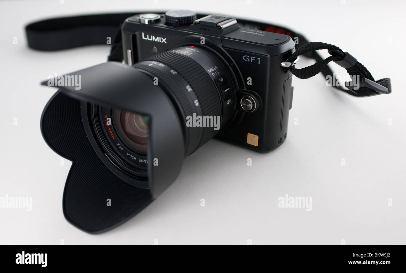 Panasonic Lumix GF-1 Digital Micro 4/3 camera - Stock Image