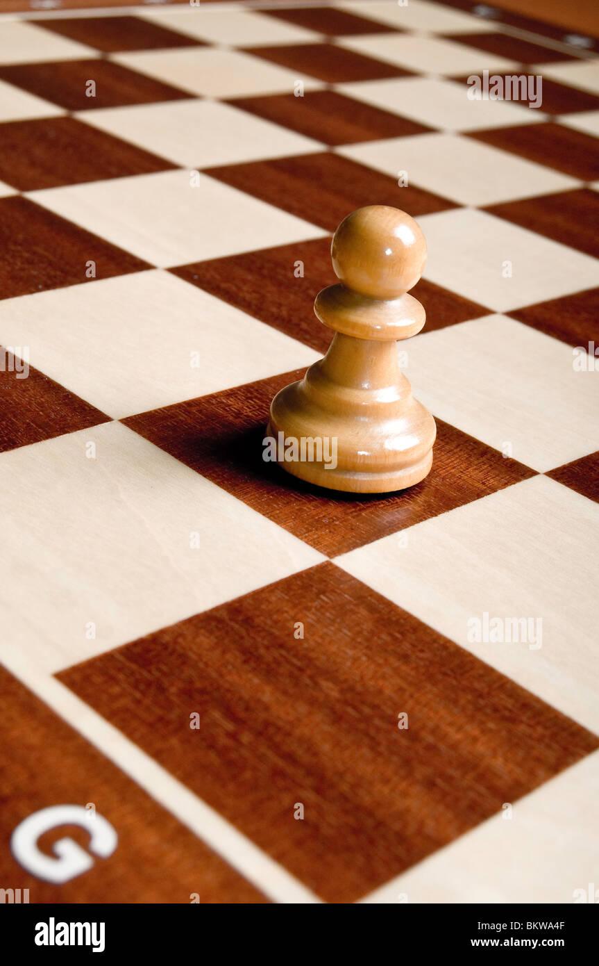 chess Pawn piece - Stock Image