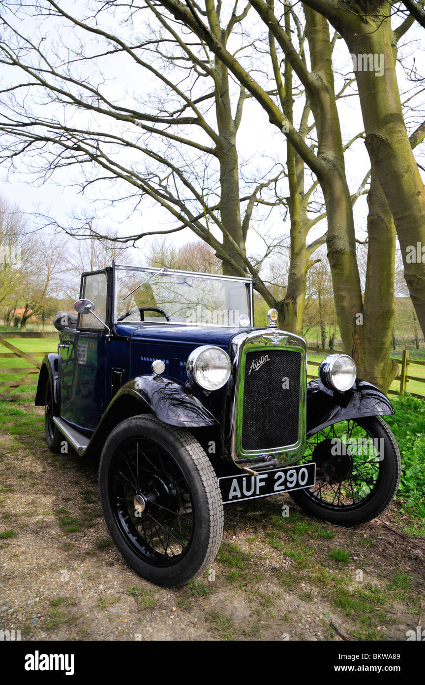 1934 Austin Seven Opal two seater. - Stock Image