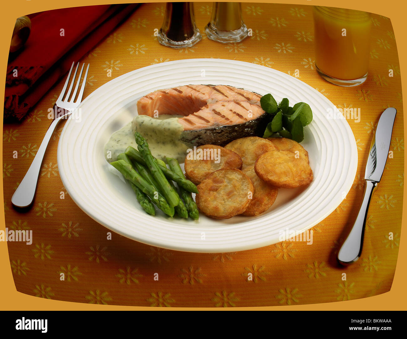 TV Dinner - Stock Image