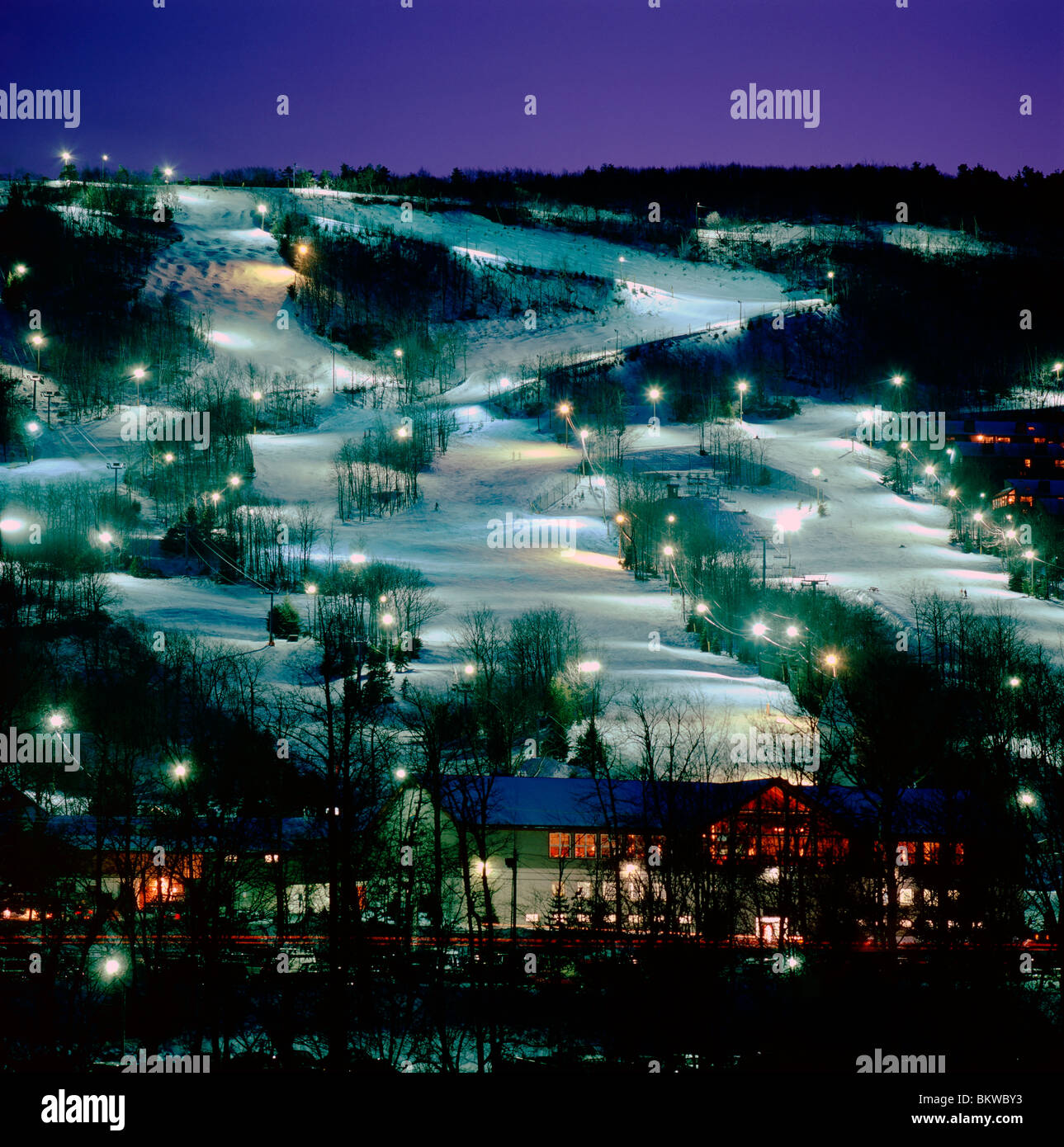 camelback mountain resort in the pocono mountains, near tannersville