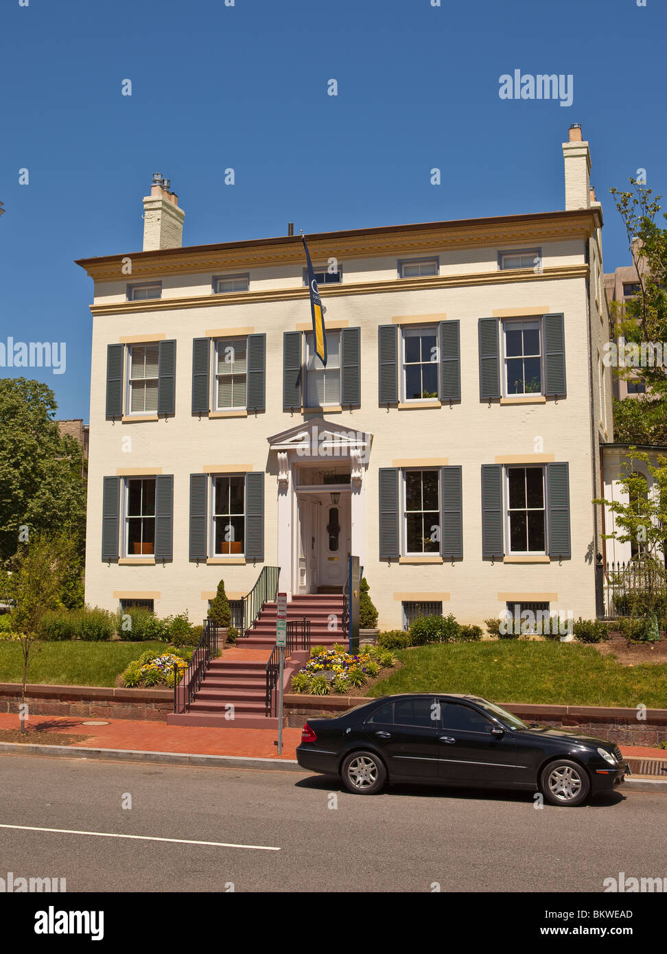 Washington Dc Usa University President S House At George Stock Photo Alamy
