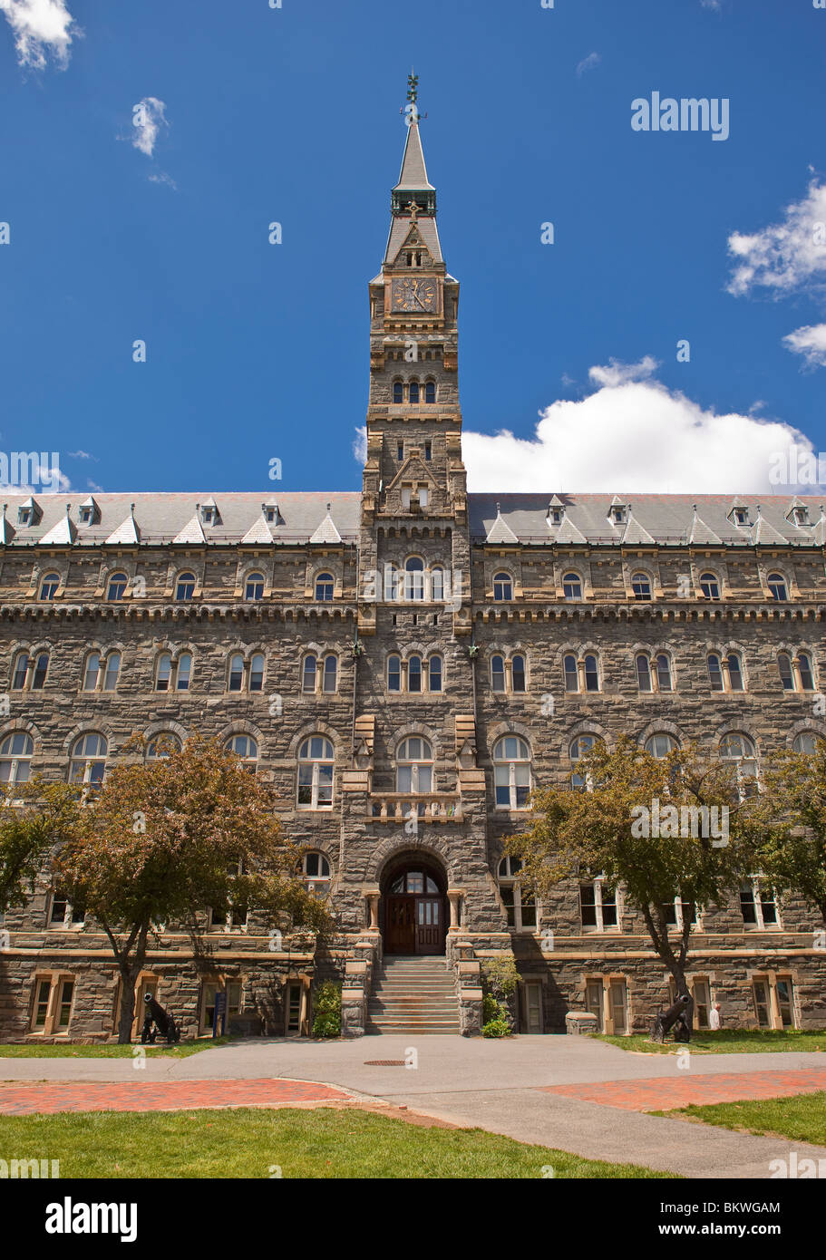 WASHINGTON, DC, USA - Healy Hall at Georgetown University. - Stock Image
