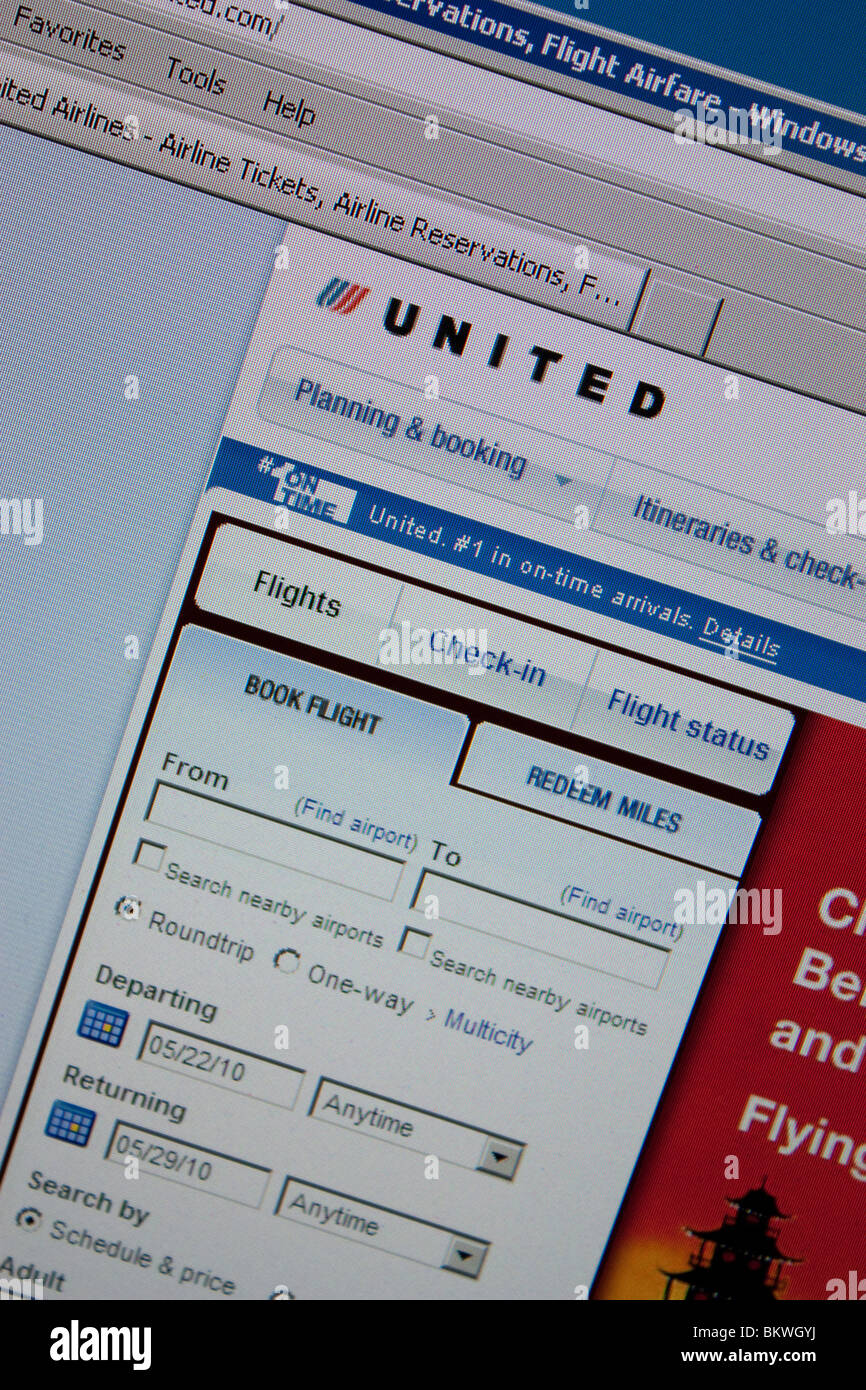 united flight airline stock photos & united flight airline stock