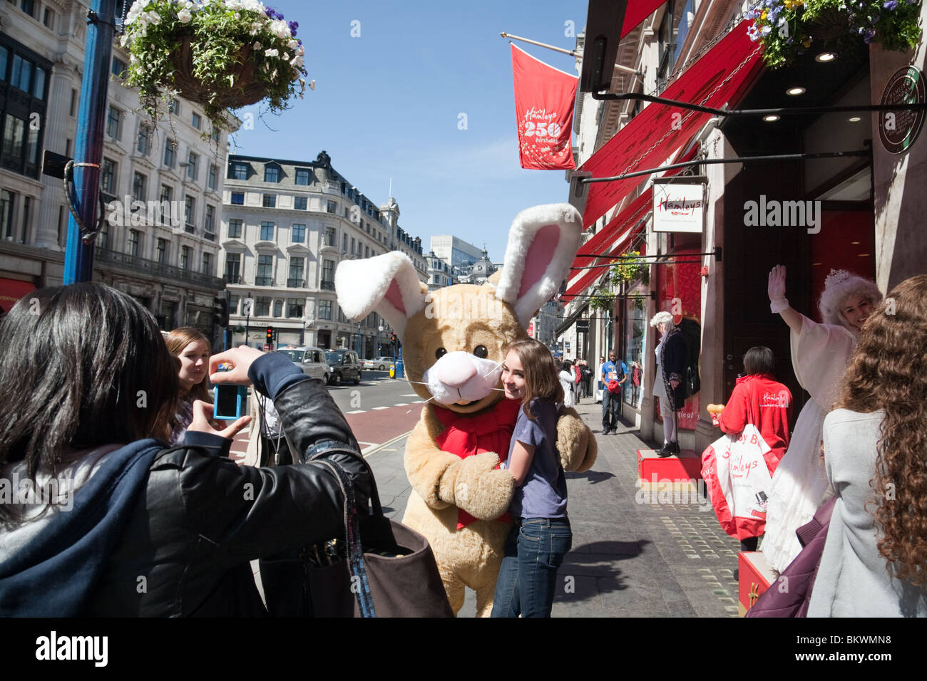 250th anniversary of Hamleys toystore, Regent Street, London UK - Stock Image