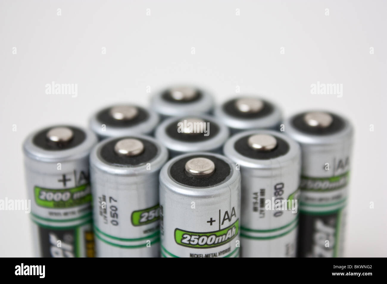 Pile Of Batteries Stock Photos Images Alamy Baterai Aa Maxell Super Power Ace Red Battery Rechargeable Image
