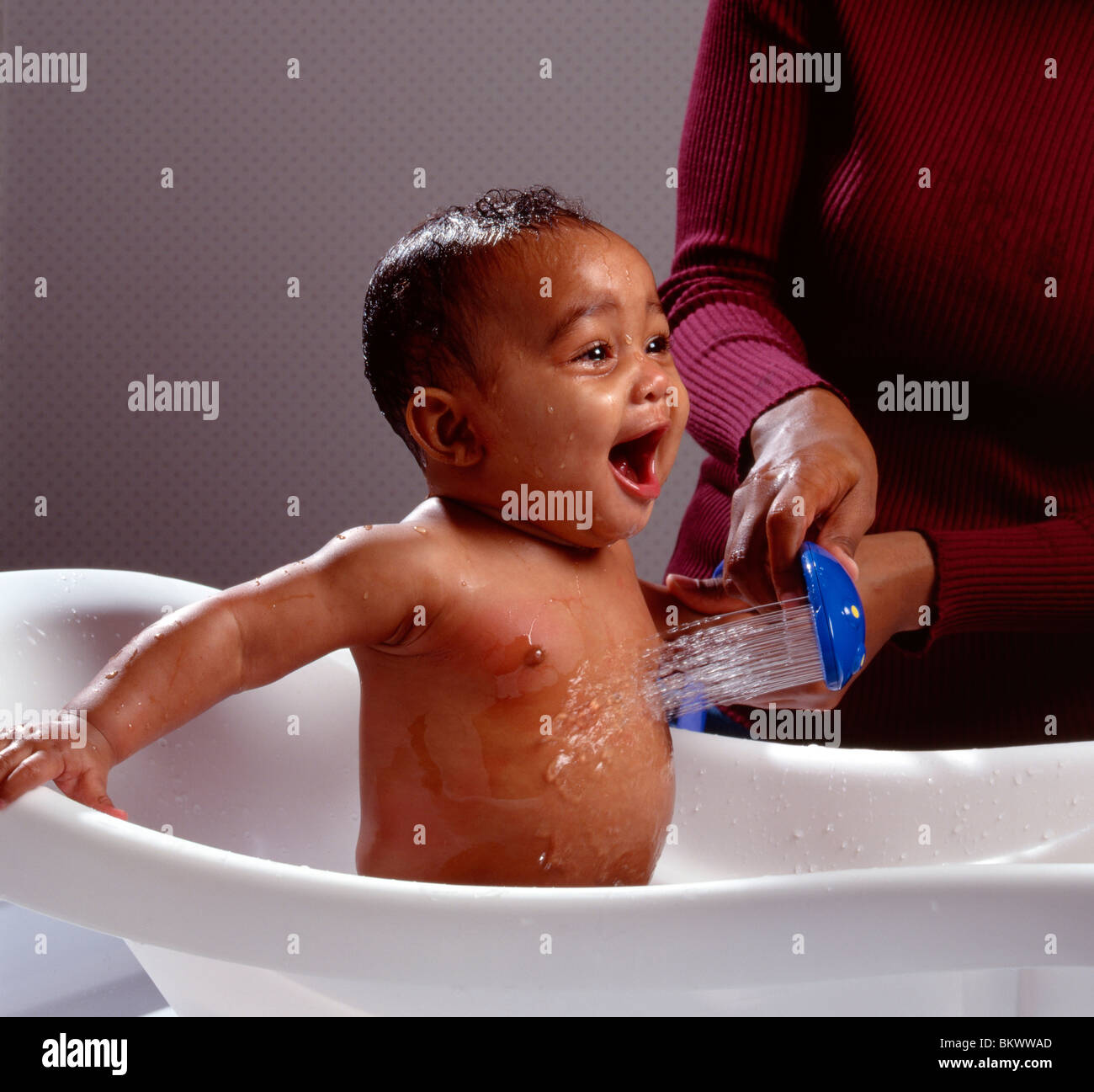 Child Portrait African American Bath Stock Photos & Child Portrait ...