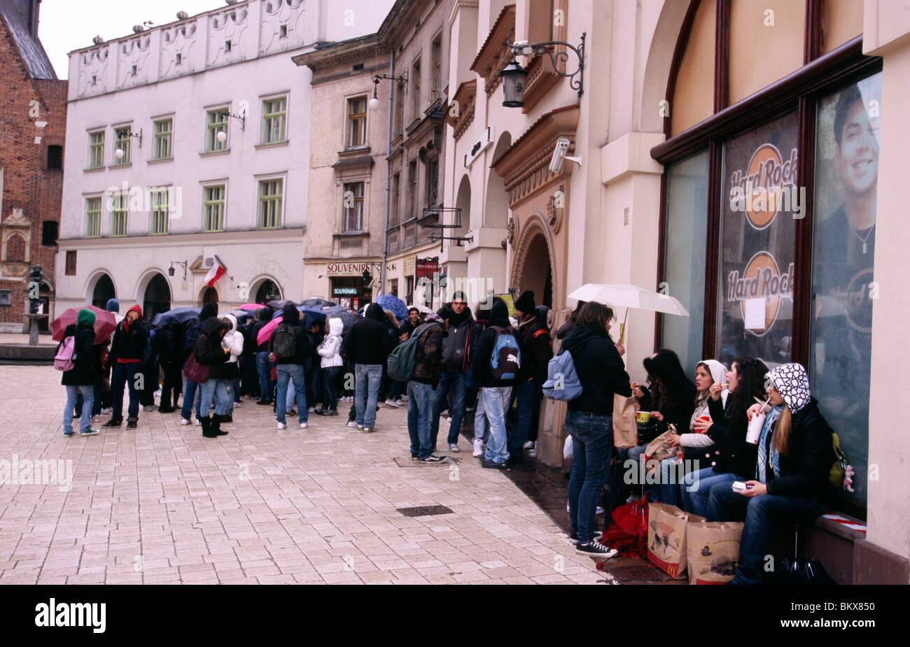 Krakow, April 2010 -- - Stock Image