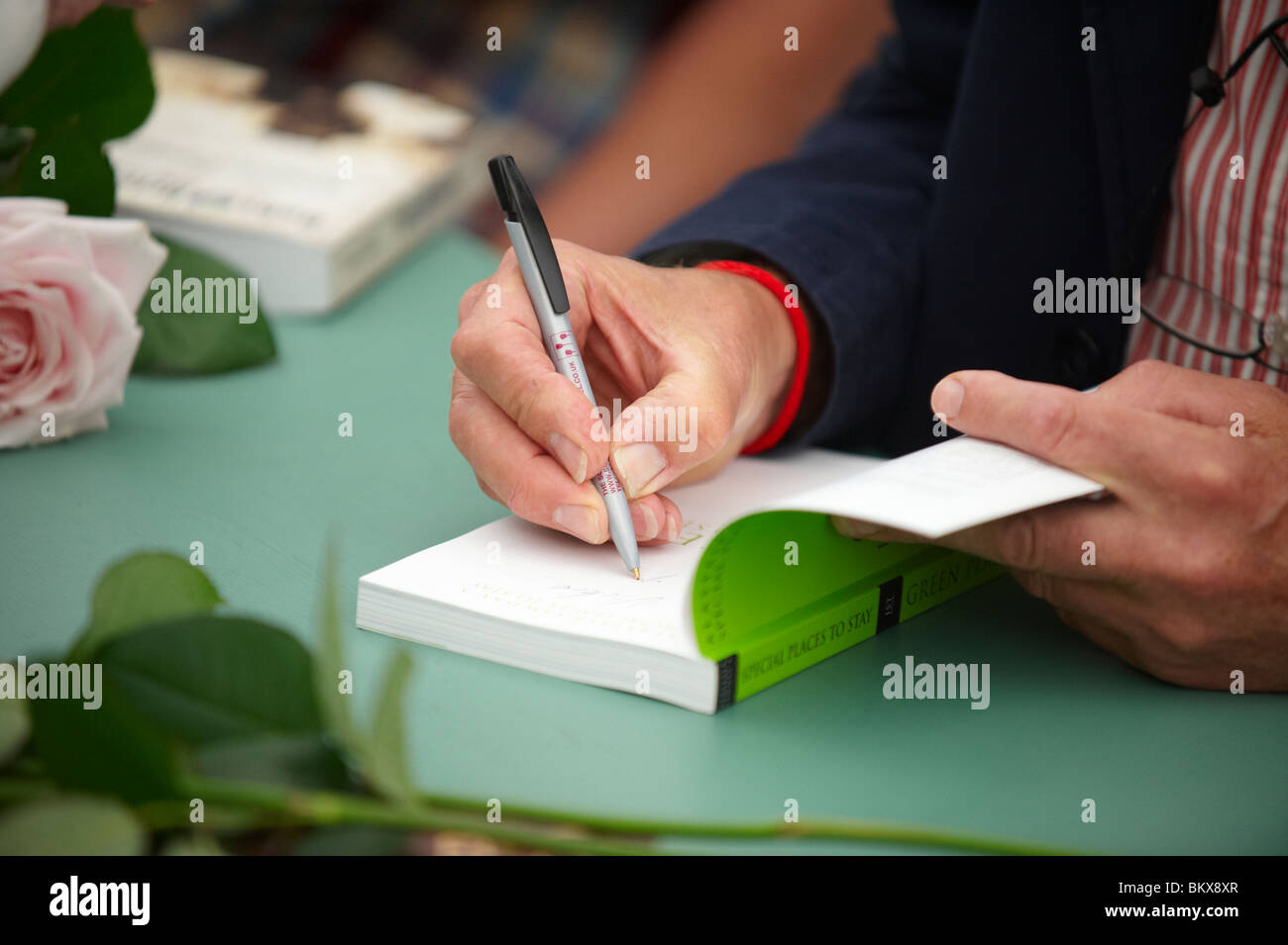 Book Signing - Stock Image