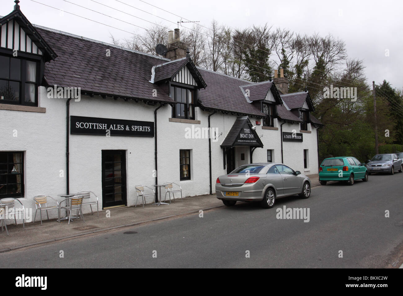 The Boat Inn Aboyne Aberdeenshire Scotland  May 2010 - Stock Image