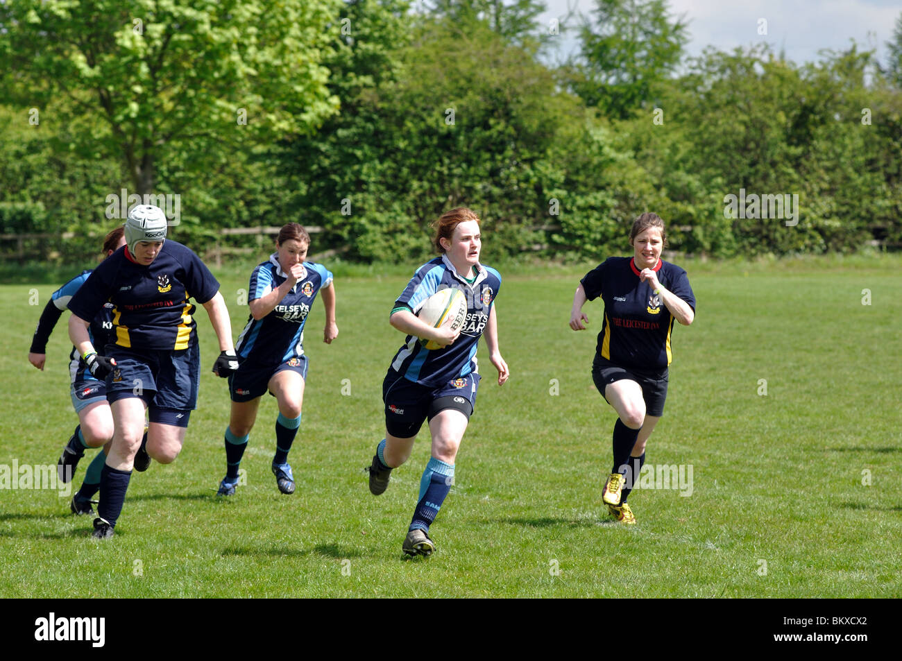 Women`s Rugby Union - Stock Image