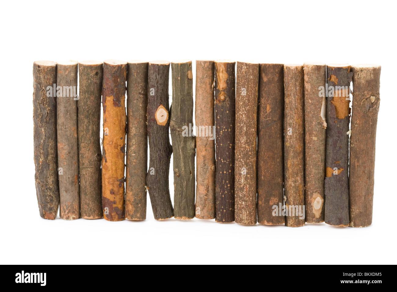 log close up shot for background - Stock Image