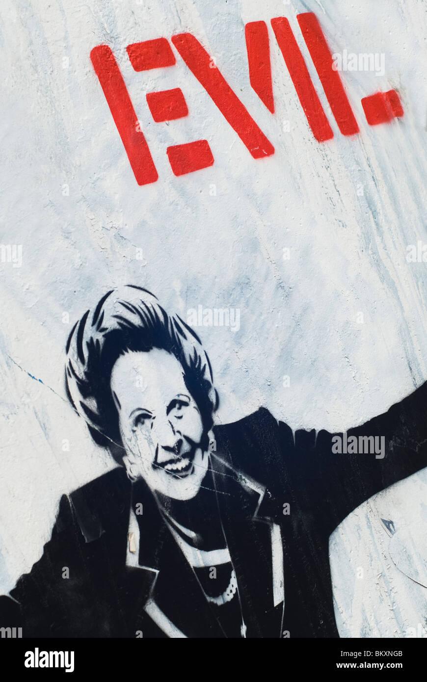 Margaret Thatcher - Stock Image