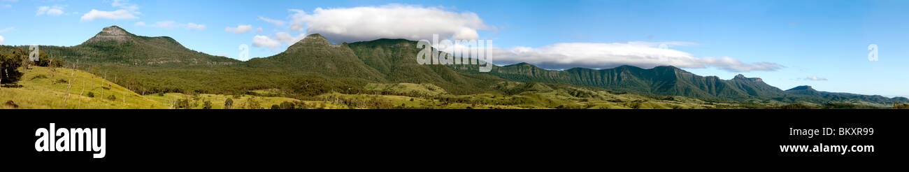 Main Range National Park, Great Diving Range, Australia - Stock Image