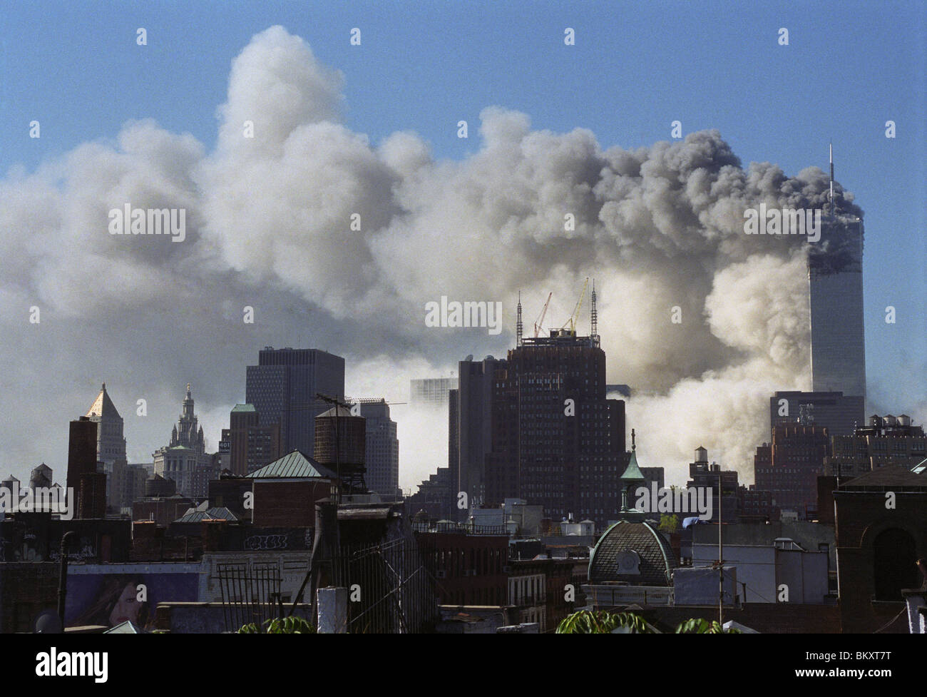World Trade Center WTC Collapse September 11 ©Stacy Walsh Rosenstock/Alamy - Stock Image