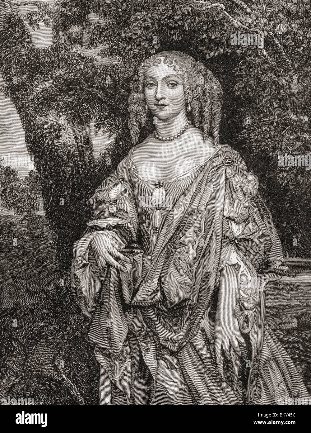 "Eleanor ""Nell"" Gwyn, 1650 to 1687. English actress and mistress of King  Charles II of England."