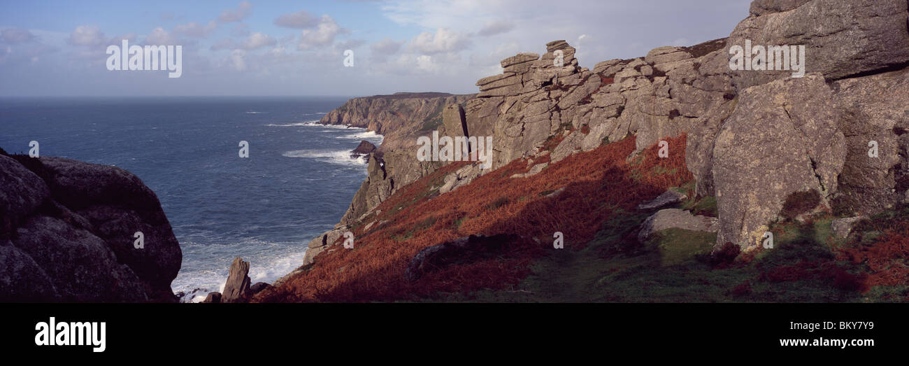 Valley of the Rocks, Exmoor, U.K. - Stock Image