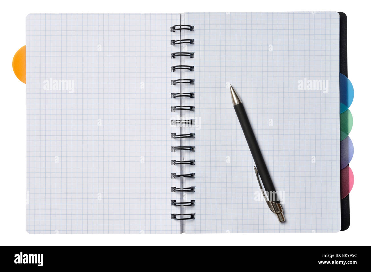 Notebook - Stock Image