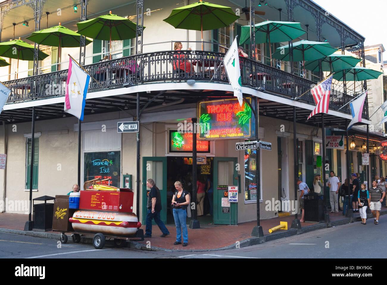 Bourbon Street hookup