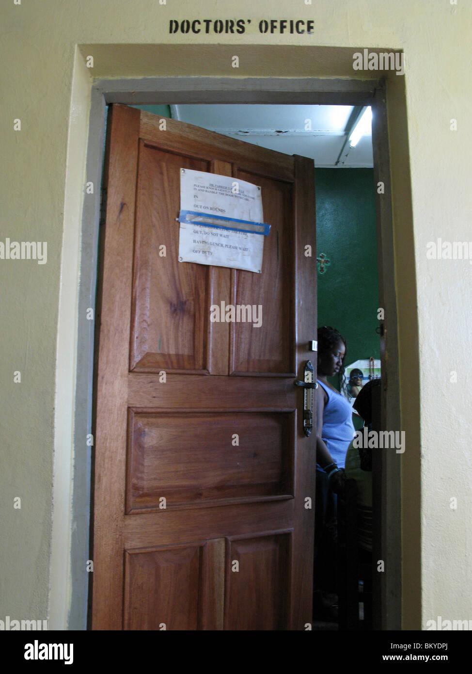 Consulting Room Door Stock Photos Consulting Room Door Stock