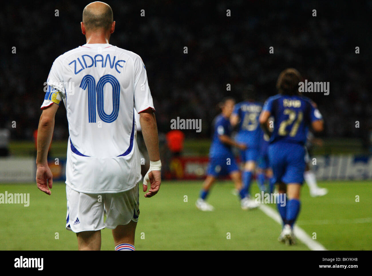 7a04e2deb Zinedine Zidane of France in action during the 2006 FIFA World Cup final  against Italy July 9
