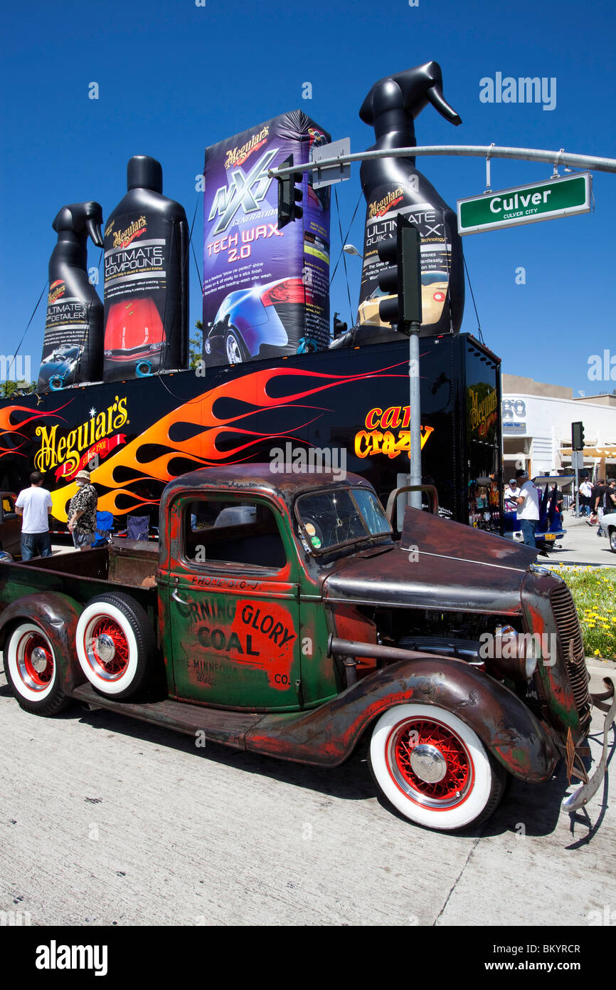 Old Truck used for delivering coal, Culver City Hot Rod Show, May 8 ...