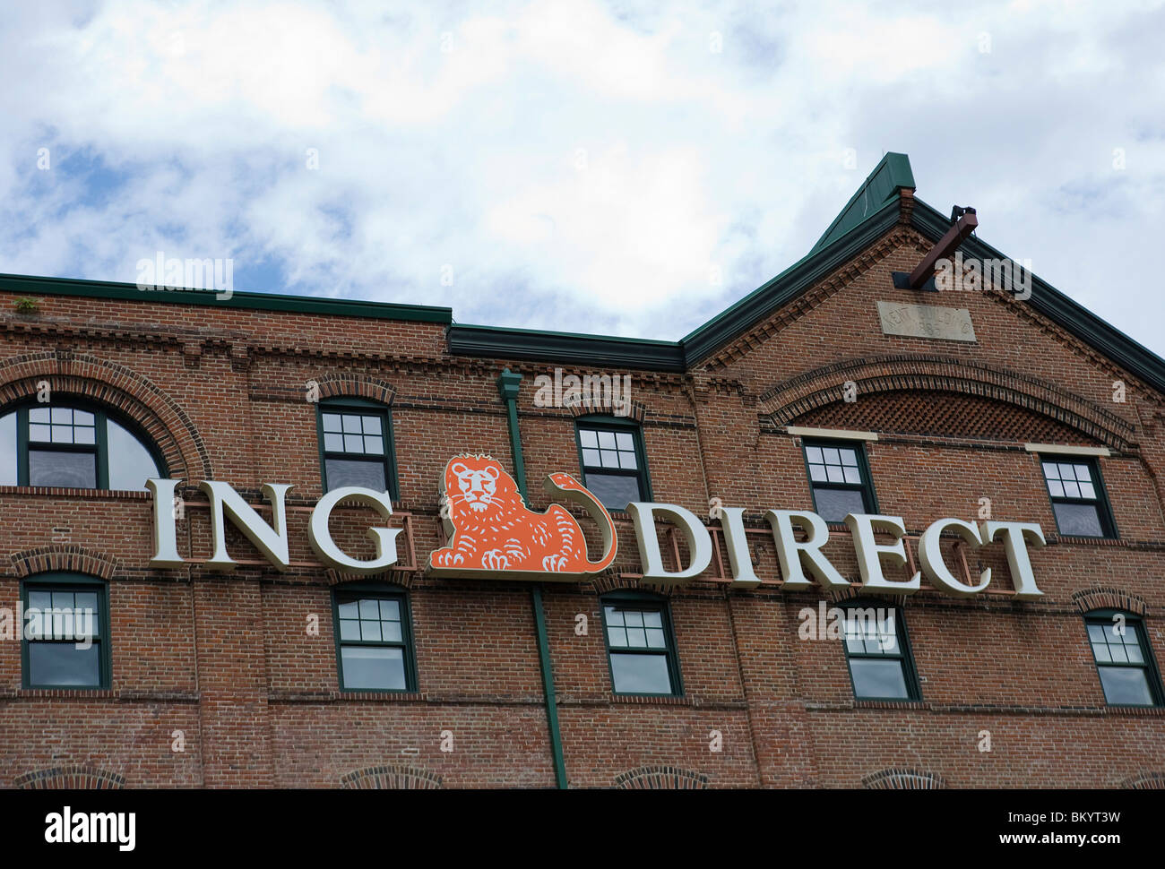 A ING Direct Bank building.  - Stock Image