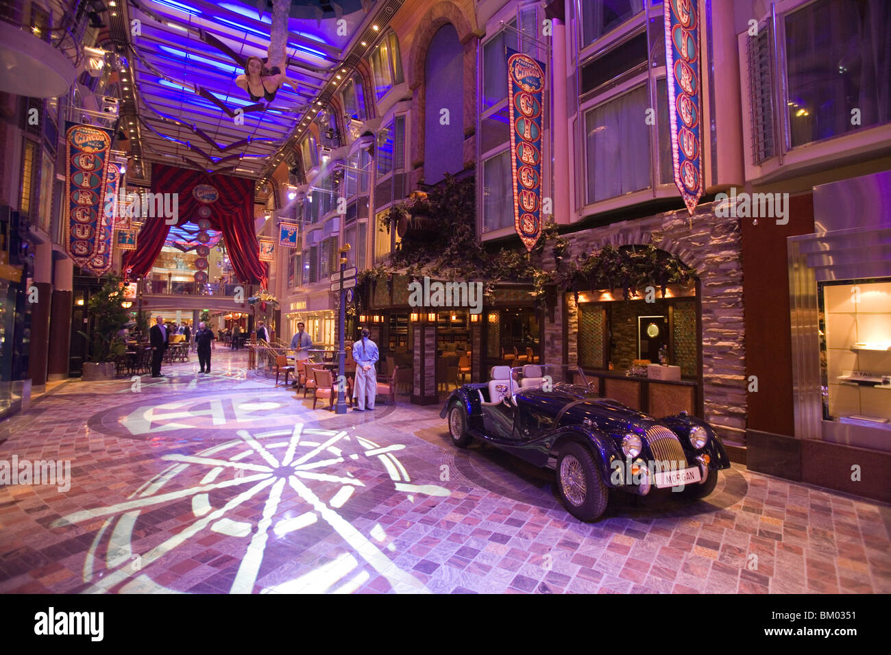 Morgan Convertible Inside Royal Promenade On Deck 5 Freedom Of The Seas Cruise Ship Caribbean International Line